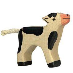 Holztiger Wooden Animal Figure Calf Canada