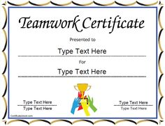 Free Certificate Of Appreciation Templates And Letters  Ywca