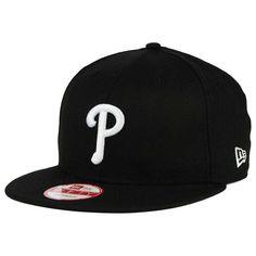 new style 75149 8c6eb Philadelphia Phillies New Era MLB B-Dub 9FIFTY Snapback Cap – Black, Your  Price