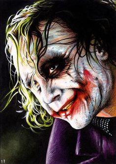 ☆Heath Ledger / The Joker☆ Batman Joker Wallpaper, Joker Iphone Wallpaper, Joker Wallpapers, Joker Clown, Joker Comic, Joker Face, Fotos Do Joker, Joker Dark Knight, Arkham Knight