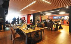Work Cafe, Wifi, Chile, Conference Room, Furniture, Design, Home Decor, Image, Coffee Shops Ideas