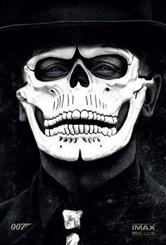James Bond 007 Spectre Daniel Craig Poster Imax Day Of The Dead Mask Skull Movie 007 Contra Spectre, Spectre Movie, Spectre 2015, 007 Spectre, Daniel Craig James Bond, Christopher Nolan, Skyfall, Milla Jovovich, Day Of Dead
