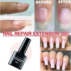 etc.  SPECIFICATIONS: Net Content: 8ml Gel Color:Clear Uv Gel Nails, 3d Nails, Acrylic Nails, Manicure, Repair Broken Nail, Nail Repair, Fill In Nails, Self Nail, Broken Nails