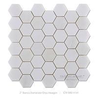 2inch witte marmeren vloer patronen zeshoek mozaïek keuken tegels - product ID : 60103495739 - m.dutch.alibaba.com