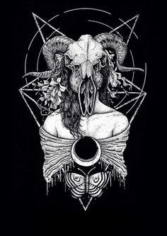 #occult #occultism #illustration #satanic #design