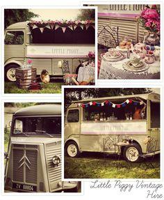 Stuff We Love – Little Piggy Vintage Hire Wedding Reception, Reception Ideas, Food Stands, Vintage Vans, Southern Weddings, Event Styling, Wedding Inspiration, Wedding Ideas, Our Love