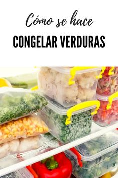 * How to Freeze Vegetables Properly Awesome Great How to freeze vegetab. Gula, Tasty Videos, Frozen Vegetables, Hummus Wrap, Different Recipes, Freezer Meals, Easy Dinner Recipes, Slow Cooker Recipes, Cooking Tips