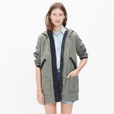 Madewell et Sézane® Beckett Hooded Jacket : jackets   Madewell