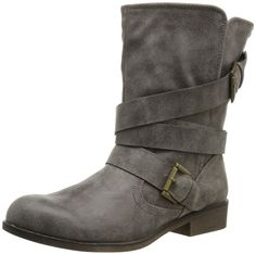 Amazon.com: Madden Girl Women's Cullenn Motorcycle Boot: Shoes