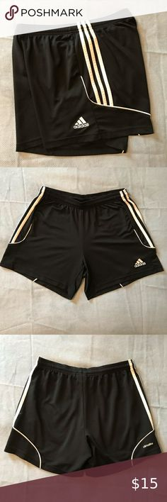 Adidas CLimalite Shorts Soccer//Football Performance 2xl Navy Blue And Nwt