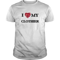 (Tshirt Produce) I love my Clothier   Discount 20%