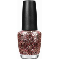 Opi Infrared-Y To Glow (37 CAD) ❤ liked on Polyvore featuring beauty products, nail care, nail polish, beauty, makeup, nail, glitter, womens-fashion, opi nail color and red glitter nail polish