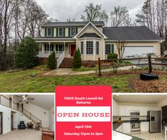 Save The Date! Open House. 11005 South Lowell Rd Bahama  #TeamEdwardsMitchell #kellerwilliams #realtor #realestate #KWElite #Raleigh #Durham #NC #KW #openhouse #explore #lookaround #checkitout #newhome #homesearch #househunting #Saturday #Sunday