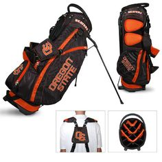 NCAA Oregon State Fairway Stand Bag by Team Golf. Buy now @ ReadyGolf.com