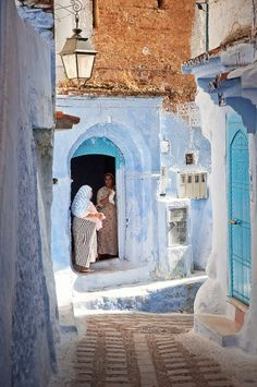 Chefchaouen, Morocco.One of the nice places in the north of Morocco we'll visit during our 3 days trip! www.asilahventures.com