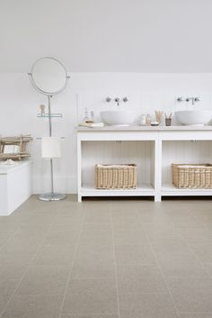Stonemark can also look great in the bathroom - check out our latest roomset! www.leoline.co.uk