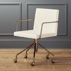 "Shop rouka velvet office chair. Designed by Jannis Ellenberger, Rouka puts an elegant twist on the office chair. ""Its metal structure and upholstered seat mixes looks, like industrial loft style and a bit of midcentury."