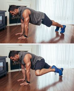The Best Core Exercises for Abs - Spiderman Plank