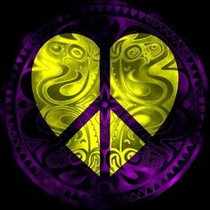 (With images) Hippie Peace, Hippie Love, Hippie Art, Peace On Earth, World Peace, Peace Love Happiness, Peace And Love, Yin Yang, Peace Sign Art