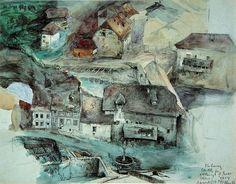 Fribourg Suisse, 1859 - John Ruskin