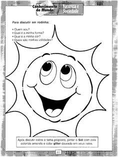 ESPAÇO EDUCAR: Atividades sobre dia e noite para os pequenos!
