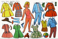 A 10 x 16 uncut paper doll sheet. It is Rosa Mary . It is made by EVA No. Includes costumes for school and play. A narrative on the verse printed in Spanish describes the doll and costumes and includes instructions. Paper Toys, Paper Crafts, Ny Ny, Vintage Paper Dolls, All Paper, Free Graphics, Album, Just For Fun, Vintage Advertisements