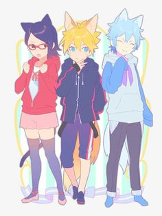 Boruto: Naruto Next Anime Naruto, Naruto And Sasuke, Naruto Uzumaki, Boruto And Sarada, Naruto Fan Art, Naruto Cute, Anime Chibi, Manga Anime, Kawaii Anime