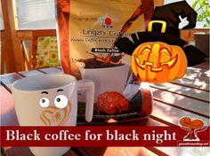 Black Coffee, Halloween, Mugs, Healthy, Tableware, Dinnerware, Tumblers, Tablewares, Mug