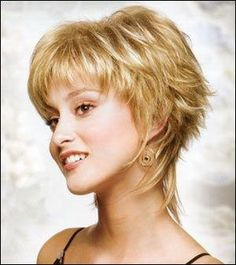 shaggy haircuts for women over 40 | Pin Short Shaggy Hairstyles For Women 2011 on Pinterest by Eva
