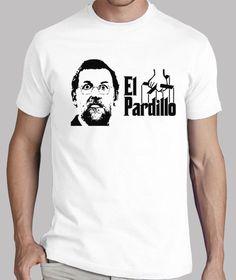 Camisetas El Pardillo (parche negro)