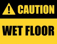 Smart image within wet floor signs printable