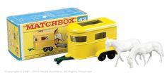 Matchbox Regular Wheels No.43c Pony Trailer.
