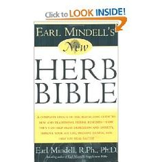 Herb Bible - Excellent reference for herbal remedies