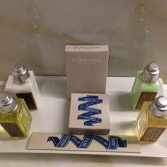 The L'Occitane amenity kit (from My hOtel: London Marriott Hotel, Grosvenor Square)