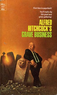 Alfred Hitchcock Book Cover Art