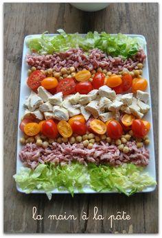 Salade de légumes marinés -