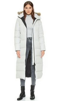 Canada Goose expedition parka replica fake - CANADA GOOSE Mystique Parka. #canadagoose #cloth # | Canada Goose ...