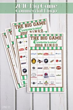 ... Bowl on Pinterest | Super bowl party, Bingo and Super bowl appetizers