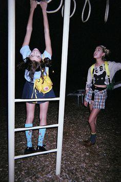 night time playground