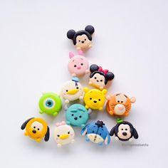 Disney Desserts, Cute Desserts, Disney Food, Cute Polymer Clay, Cute Clay, Polymer Clay Charms, Clay Crafts For Kids, Kids Clay, Cute Baking