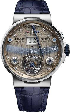 La Cote des Montres : La montre Ulysse Nardin Grand Deck Marine Tourbillon - Toutes voiles dehors et le vent en poupe