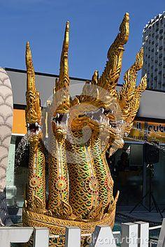 Nadia Mikushova (Nadiamik) - Milan,Italy-June 30, 2015: A view to the Kingdom of Thailand pavilion of EXPO Milano 2015 in a hot summer day.