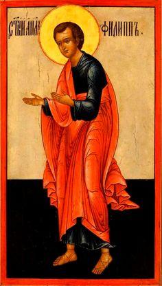 Philip the Apostle Russian Orthodox icon Roman Mythology, Greek Mythology, Archangel Raphael, Christian Friends, Peter Paul Rubens, Russian Orthodox, Guardian Angels, Orthodox Icons, Angel Art