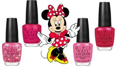 OPI -collection vintage minnie mouse  Nothin Mousie Bout It