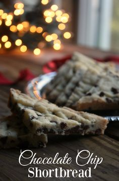 Chocolate Chip Shortbread cookies made with mini chocolate chips are a wonderful addition to your holiday baking. Soft and buttery these chocolate chip shortbread cookies are always a hit. Chocolate Chip Shortbread Cookies, Chip Cookies, Chocolate Chips, Yummy Cookies, Yummy Treats, Sweet Treats, Cheese Cookies, Holiday Baking, Christmas Baking