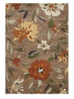 Amazon.com - ZnZ Rugs Gallery Rugs, Rust/Olive Green/Beige/Brown Sugar/Clay/Night Stand Blue, 8x10 - Handmade Rugs