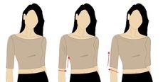 Kommatia: Pattern amendments: Sleeve