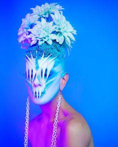 Ryan Burke, el makeup artist que . Project Red, Club Kids, Night Life, Pop Art, Photo And Video, Makeup, Creative, Artist