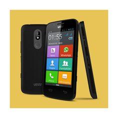 Yezz Andy AZ4.5 Senior: Android diseñado para personas mayores http://tiendasigloxxi.es/es/dual-triple-sim/1797-yezz-andy-az45-senior-45-4gb-negro-8105680214296.html