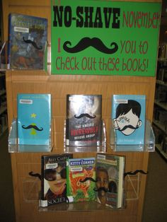 No-Shave November ... I {mustache} you to check out these books! From the Short Stacks